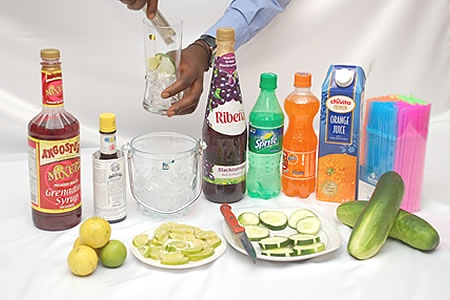 How To Make Nigerian Chapman Cocktail - Helen Events Blog